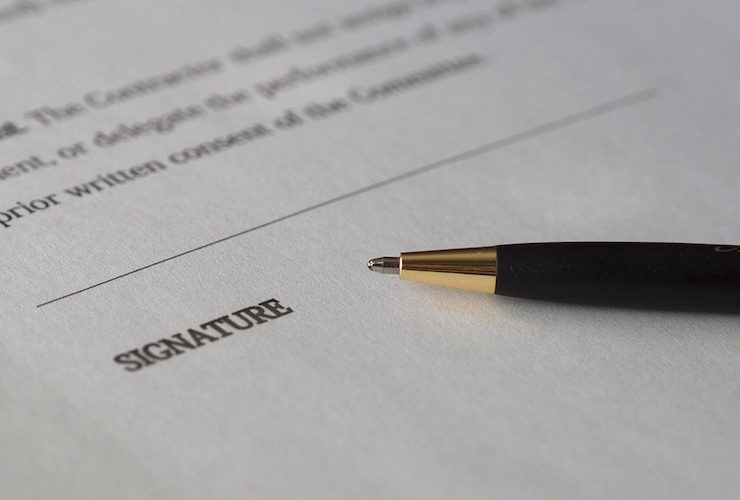 STEP TEN: THE CONTRACT